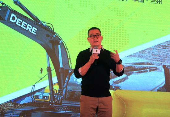 甘肃清源机电设备有限公司联合创始人贾贤达讲话