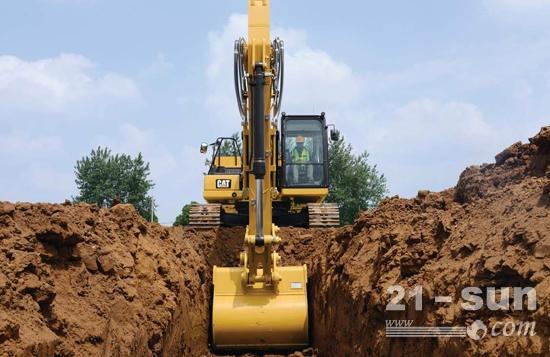 新一代Cat<sup>®</sup> 320,最低施工成本,机手效率提升可达45%