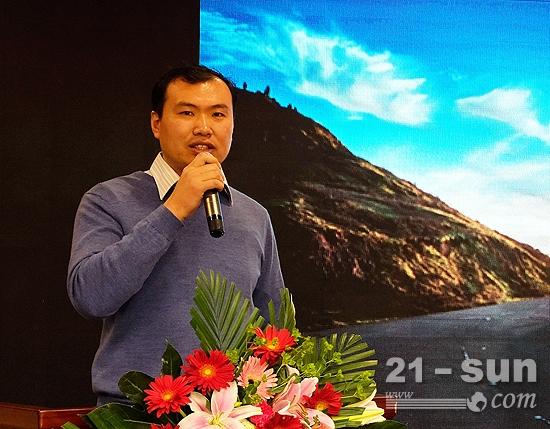 中国水利水电第十三工程局有限公司高部长讲话
