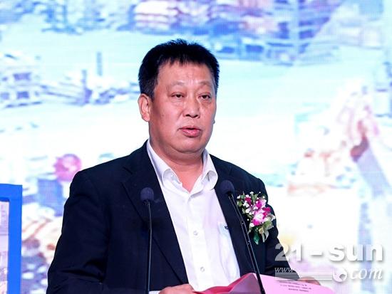股份公司副总裁黄敏讲话