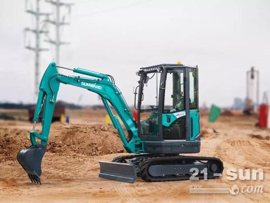 SWE25UF履带式液压挖掘机