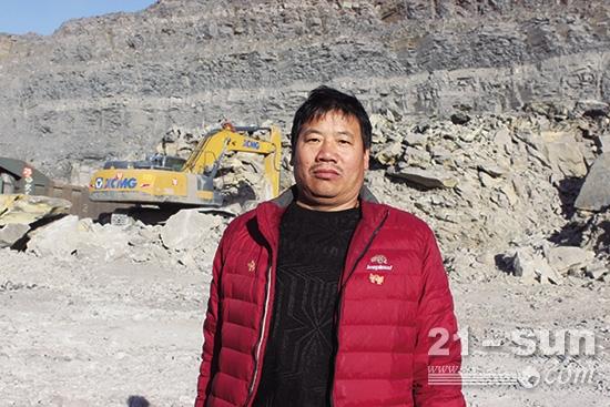 内蒙古建安正浩商贸有限责任公司董事长黄晓兵
