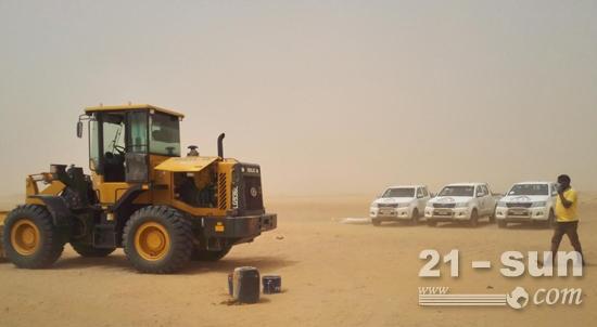 沙尘为伴,砥砺前行