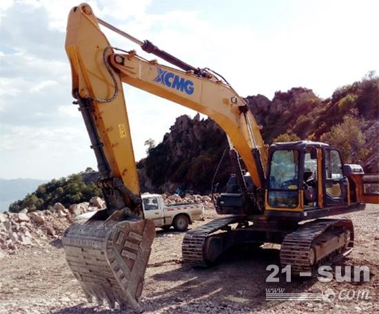 携手徐工挖掘机,助力新农村建设