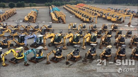7月3日,日本成田,卡特彼勒二手挖掘机淘金之旅等你来!