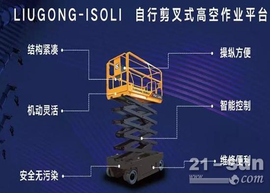 5-18米自行剪叉式高空作业平台