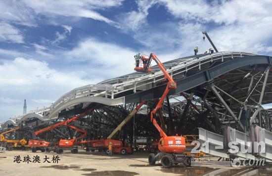 港珠澳大桥应用