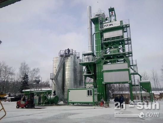 俄罗斯极寒气候环境下GLB1200型设备