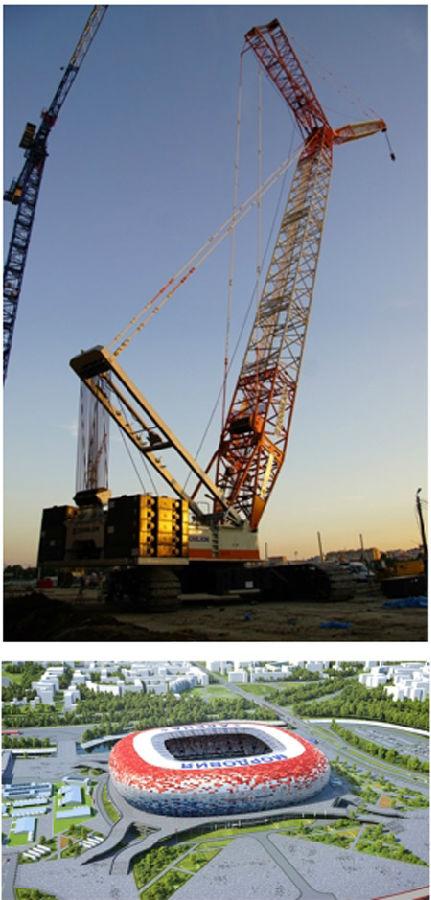 QUY350助建萨兰斯克莫尔多维亚体育馆