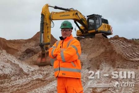 柳工挖机CLG950E性能获得英国操作手认可