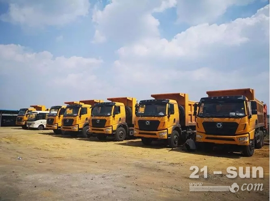 再拿两千万订单,矿用自卸车助力内蒙矿山建设