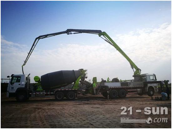 中联重科产品参建中巴经济走廊最大交通基础设施项目