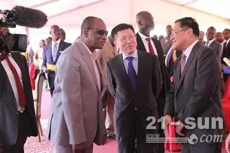 几内亚总统阿尔法·孔戴