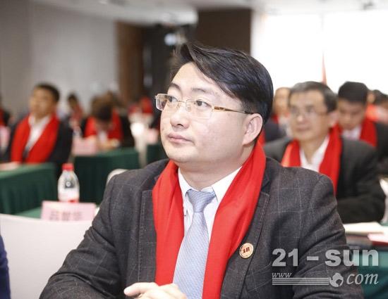 岩迪机械总经理赵辉