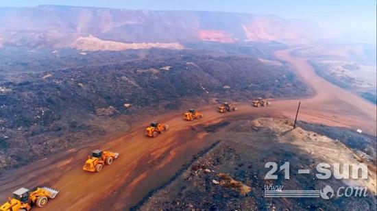 柳工装载机逐渐成为矿上的主要力量