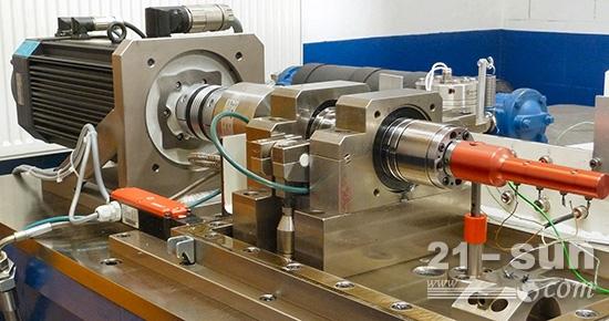 测试轴瓦的摩擦试验台