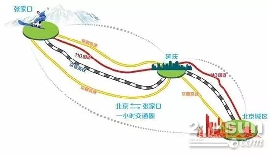 延崇高速规划图
