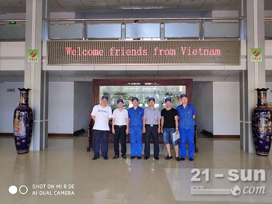 越南客户来访德工
