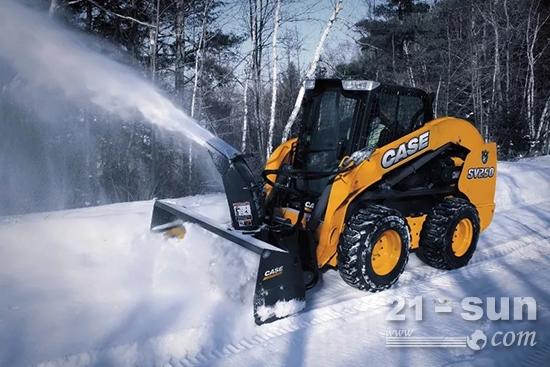 搭配除雪设备扫雪除冰