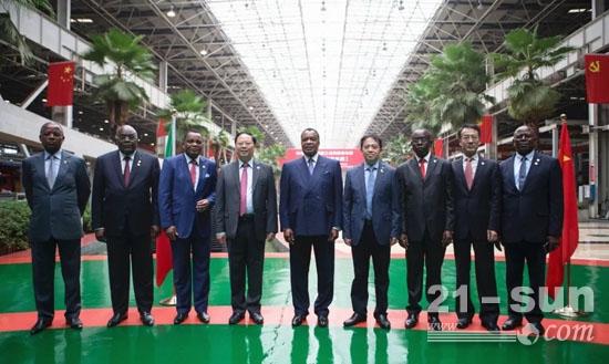 """刚果共和国总统:三一是家""""了不起的企业"""""""