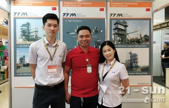 铁拓机械亮相菲律宾国际展会