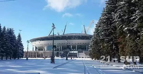 徐工设备助力俄罗斯世界杯主场馆建设