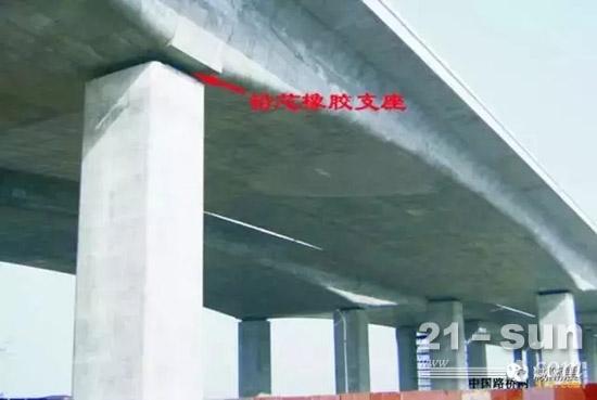 使用欧维姆公司铅芯橡胶支座的渭河特大桥在汶川大地震中安然无恙