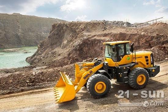 """山东临工产品在""""一带一路""""倡议地区基础设施建设中大展身手"""