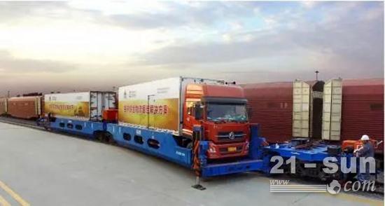 中车齐车集团生产的产品出口到五十多个国家