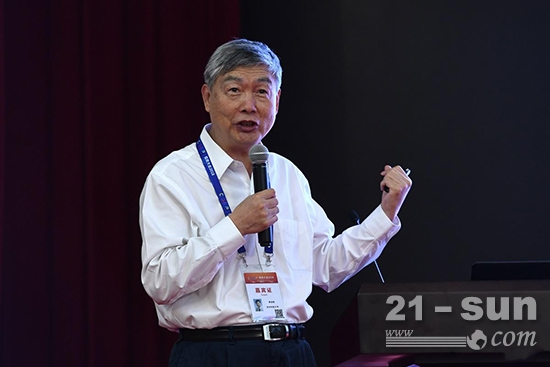 中国工程院院士、中国机械工程学会理事长李培根演讲