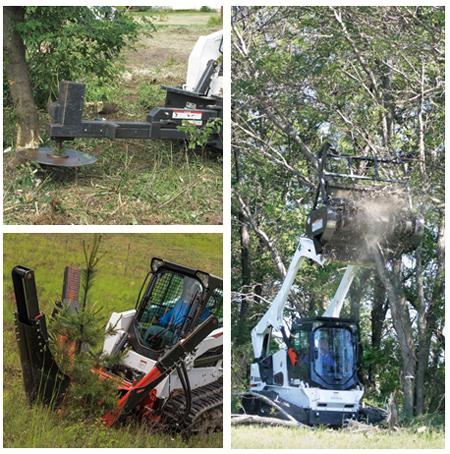 滑移装载机在园林绿化行业应用广泛