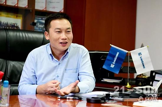 柳工亚太公司总经理 陈灏