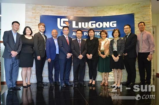 2018年7月,柳工与大华银行有限公司签署战略合作备忘录