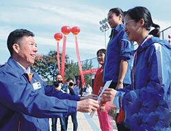 法士特集团公司第六届职工运动会如期举行