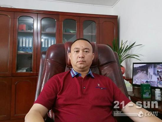 贵州安顺约翰迪尔用户黄华春