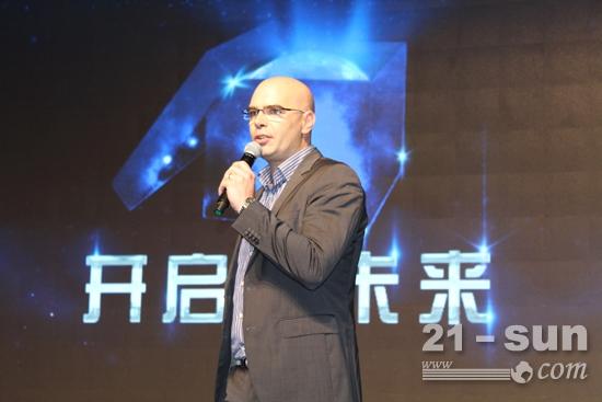 Haulotte亚太董事总经理达敏对中国市场信心满怀