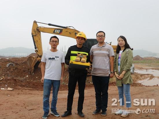 """周小明荣膺利星行机械湖北省""""省油达人"""""""