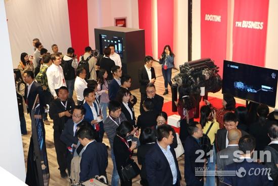 菲亚特动力科技在重庆举行的技术日活动现场