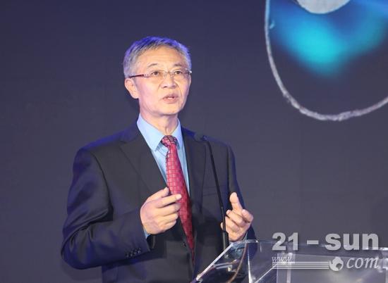 中国内燃机协会资深专家魏安力致辞