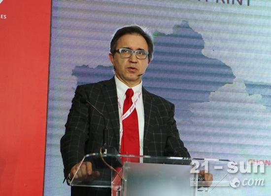 菲亚特动力科技亚太区负责人卡罗介绍亚太市场发展