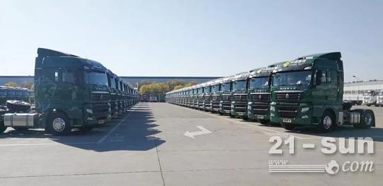 汕德卡获中国邮政集团124辆大单