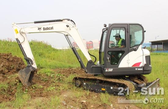山猫E58微挖