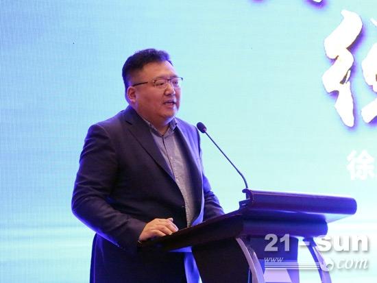 陕汽商用车销售公司总经理王建勋致辞