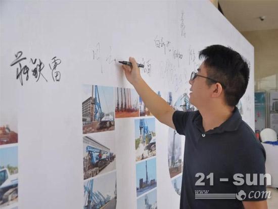 郑宇重工五项全能YTR360D旋挖钻机引爆南宁!