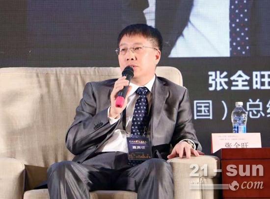 小松(中国)投资有限公司总经理兼CEO张全旺