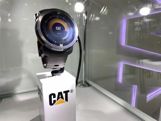 卡特彼勒发布CAT<sup>®</sup>(卡特)智能手表