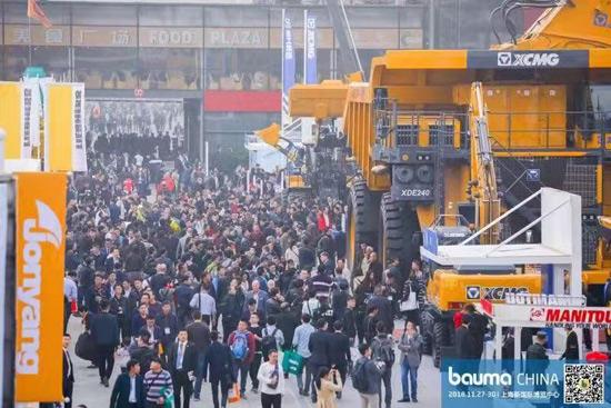 bauma CHINA 2018展会盛况