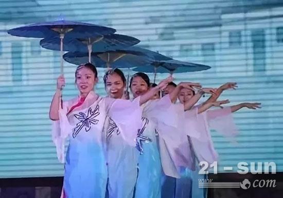 伞舞《江南水乡》
