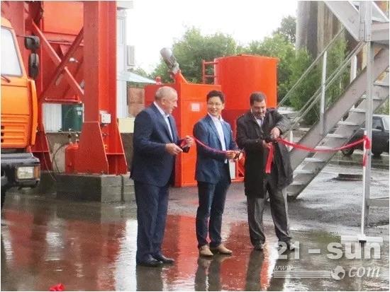 德基机械助力俄罗斯道路建设 保障世界杯顺利举行