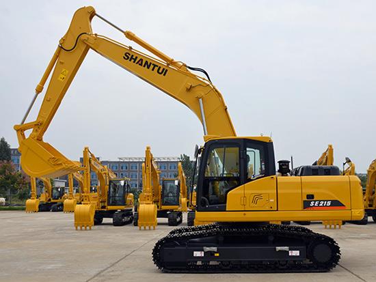 全能型选手山推SE215-9挖掘机